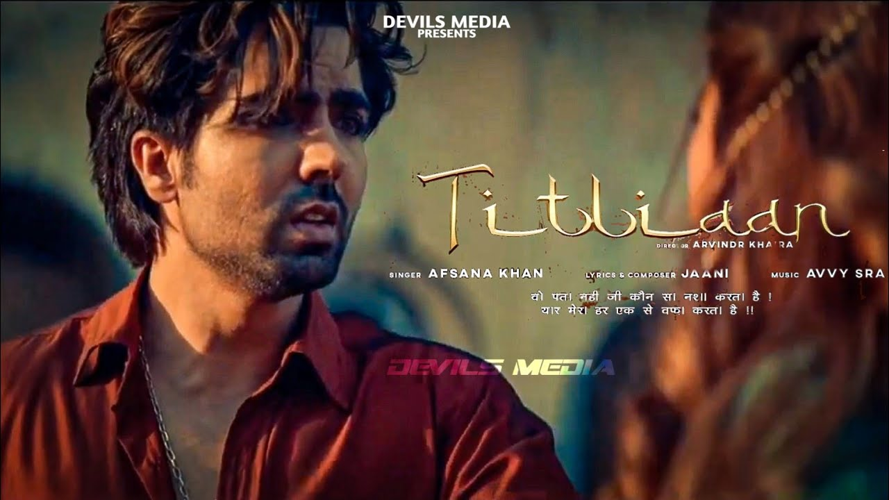 Titliyan Lyrics in Hindi & English: Harrdy Sandhu & Sargun Mehta